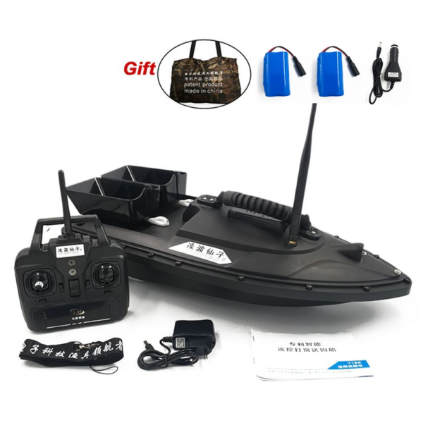 Fish Finder 4 Color RC Bait Boat best for Fishing